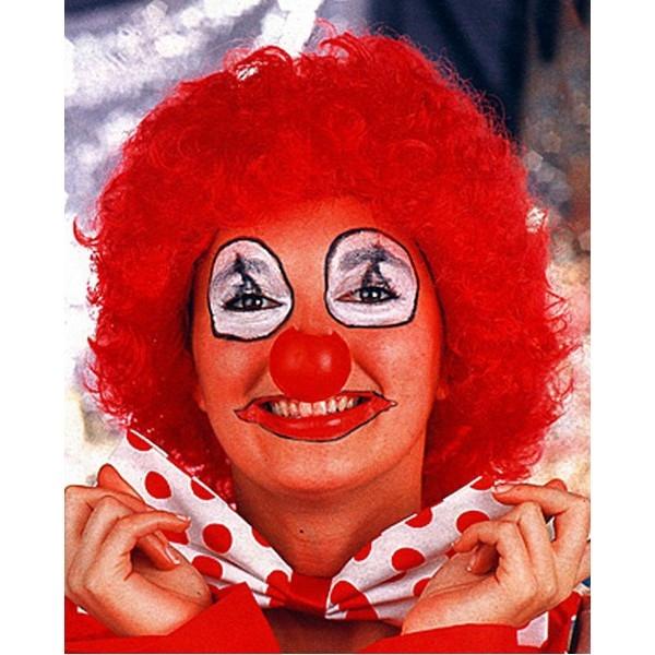 Paruka klaun - růžová