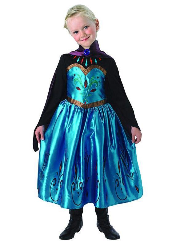 Elsa Coronation Dress Frozen Child - korunovační kostým - LD 7 - 8 roků
