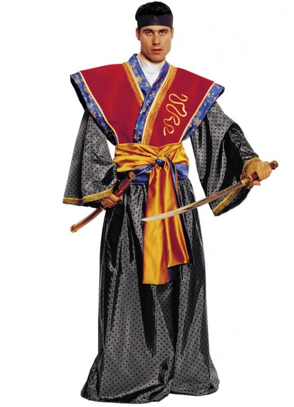 Samurajský kostým