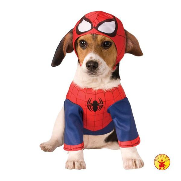 Spiderman - kostým pro pejsky - L kohoutek 56 cm, hruď 51 cm