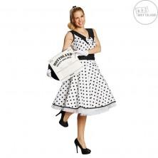Rock and Roll - bílé šaty