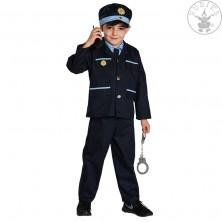 Policista - tm.modrý kostým