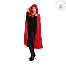 Sametový plášť červený
