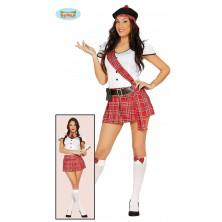 Skotská školačka - kostým