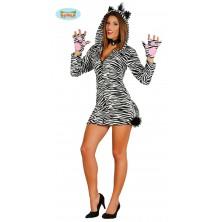Dámský kostým zebra