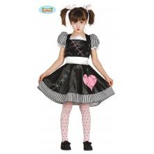 Zlá panenka - dětský kostým