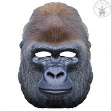 Gorila - kartonová maska pro dospělé