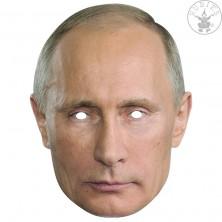 Vladimír Putin - kartonová maska pro dospělé