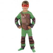 Kostým želvy TMNT Child Deluxe - licenční kostým - S 3 - 4 roky