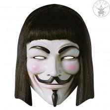 V for Vendetta - kartonová maska pro dospělé