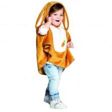 Dětská pelerína s kapucí - zajíček