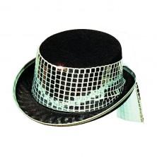 Dámský klobouk vel. 56 - stříbrná