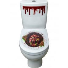 Samolepka na WC zombie