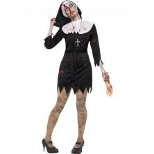Zombie jeptiška - kostým