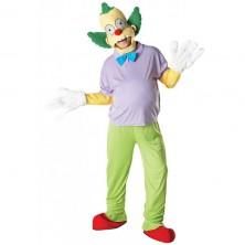 Krusty the Clown Adult Deluxe - licenční kostým - STD 48 - 54
