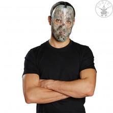 Hokejová maska fluoreskující