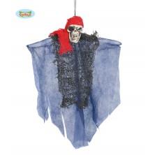 Pirát - závěsné strašidlo 30 cm