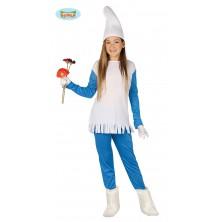 Modrý skřítek - dívčí kostým