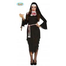 RELIGIEUSE ZOMBIE TAILLE - jeptiška kostým