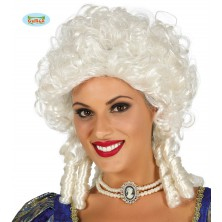 Markýza - bílá dámská paruka