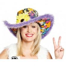 Hippie klobouk dámský - lila