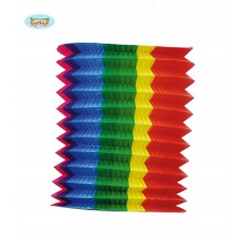 Lampion barevný 20 cm