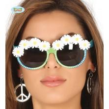 Brýle Hippie s kopretinami