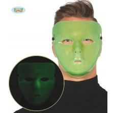 Maska zelená fluoreskující