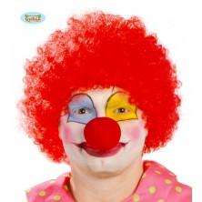 Paruka červený klaun