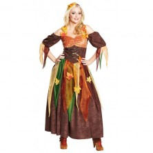 Podzimní víla - kostým - 36