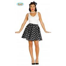 PIN UP - sukně černobílá