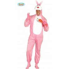 Zajíček růžový - kostým