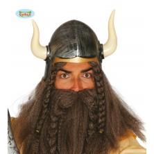 Barbarská helma s rohy