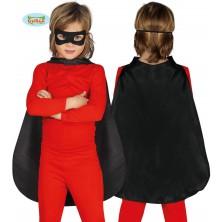 Černý dětský plášť 55 cm