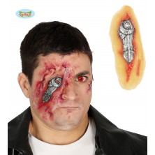 Zranění oka s lepidlem