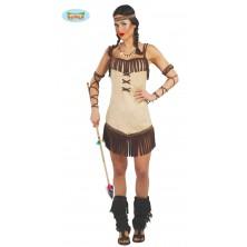 Indiánka Miwok - kostým