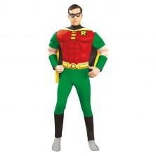 Deluxe Muscle Chest Robin  - licenční kostým