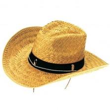Slaměný kovbojský klobouk - M