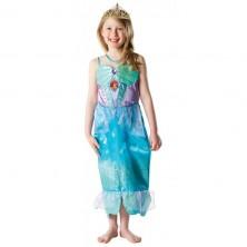 Kostým Ariel s flitry a čelenkou