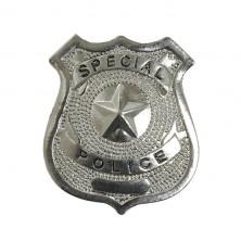Policejní odznak kovový