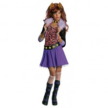Clawdeen Wolf - kostým Monster High - M 5 - 7 roků