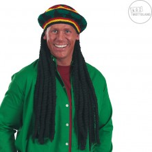 Reggae - čepice s dredy