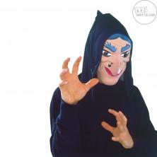 Maska čarodějnice s šátkem