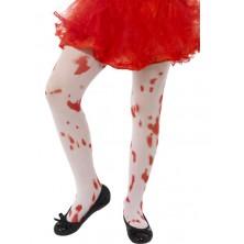 Dětské punčochové kalhoty s krví