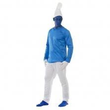Kostým The Smurfs dospělý