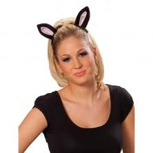 Kočičí uši na sponě