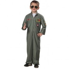 Bojový pilot - dětský karnevalový kostým