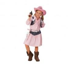 Kovbojka - dětský karnevalový kostým