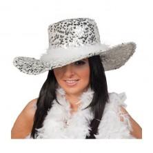 Dámský klobouk s flitry