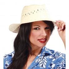 Slaměný klobouk nebarevný